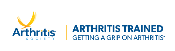 Image of the Arthritis Society's GRIP Badge