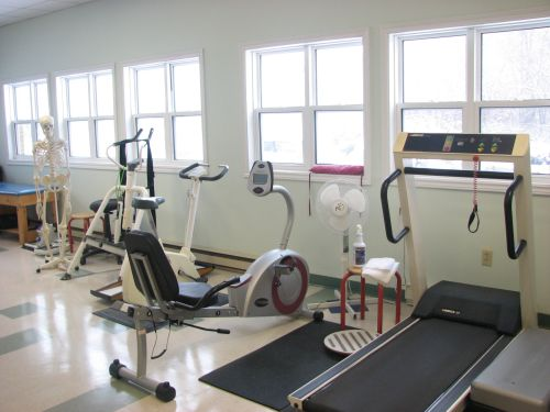 Photo of Cowie Hill Physiotherapy pt Health's general treatment area