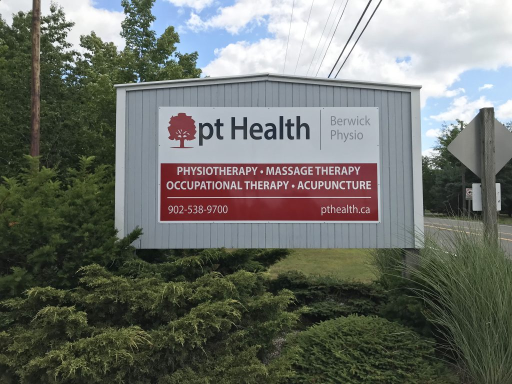 Photograph of Berwick Physiotherapy pt Health clinic's front sign