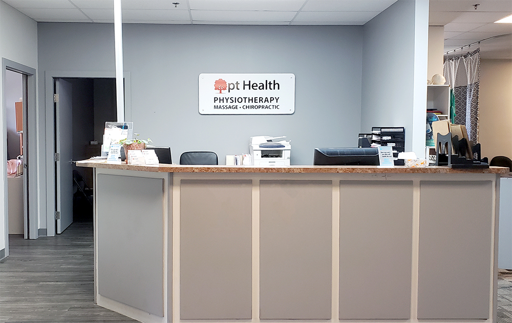 Photograph of pt Health Castleridge reception area