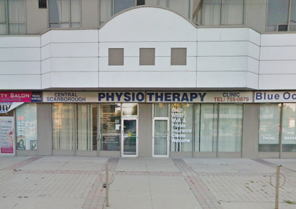 Photograph of the exterior of Central Scarborough Physiotherapy