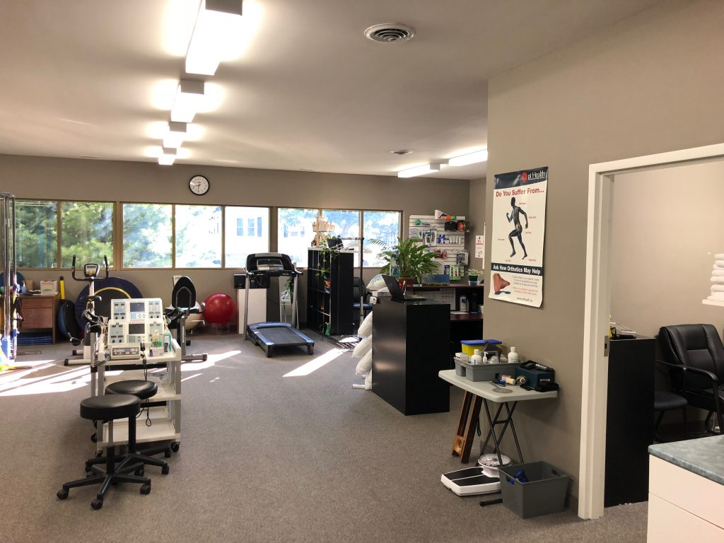 Photo of the gym area of Chatham Physiotherapy