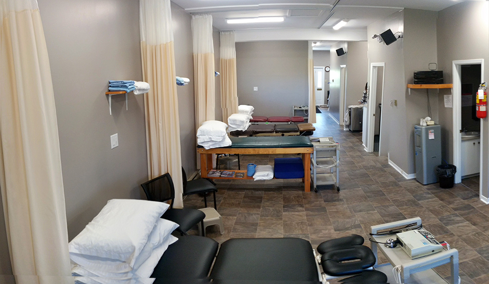 Photograph of Fairvale Physiotherapy - pt Health's general treatment area