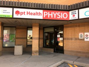 Photgraph of Flamborough Physiotherapy pt Health front door