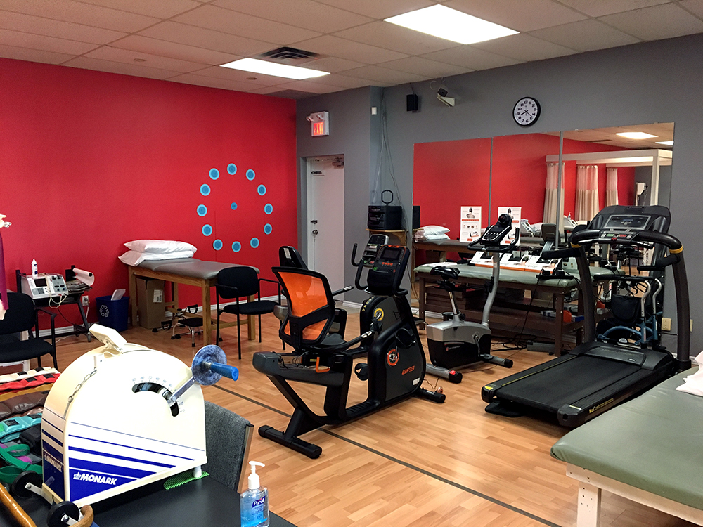 Photgraph of Flamborough Physiotherapy pt Health gym area