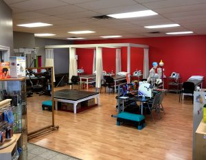 Photgraph of Flamborough Physiotherapy pt Health General treatment area