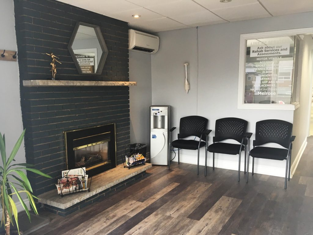Photograph of Melrose Physiotherapy pt Health's waiting room