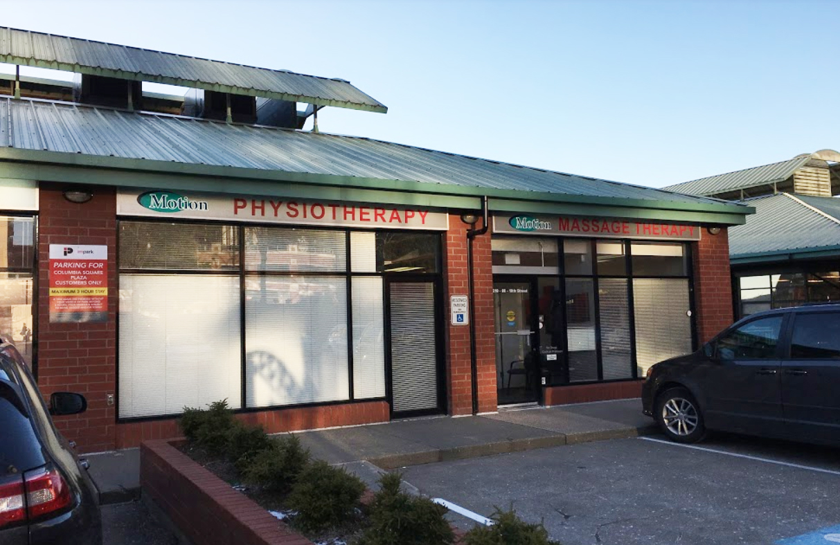 Photograph of the outside of Motion Physiotherapy pt Health