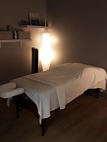 photograph of Old North physiotherapy pt Health's private massage therapy room