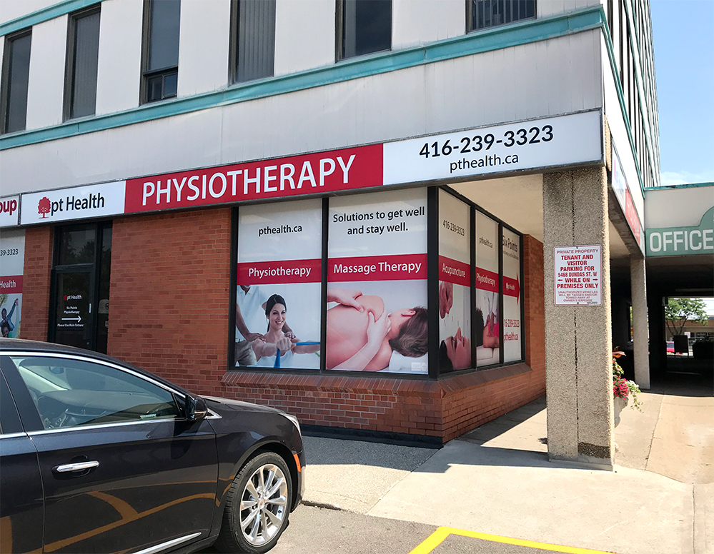 Photograph of pt Health Six Points Physiotherapy clinic building