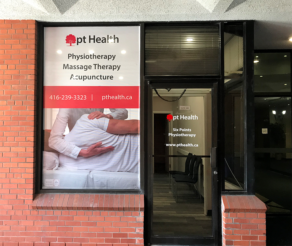 Photograph of pt Health Six Points Physiotherapy front door