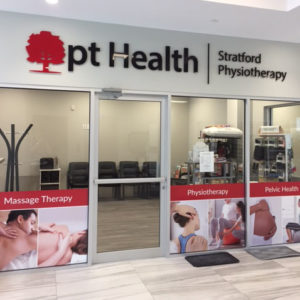 Frontage of Stratford Physiotherapy