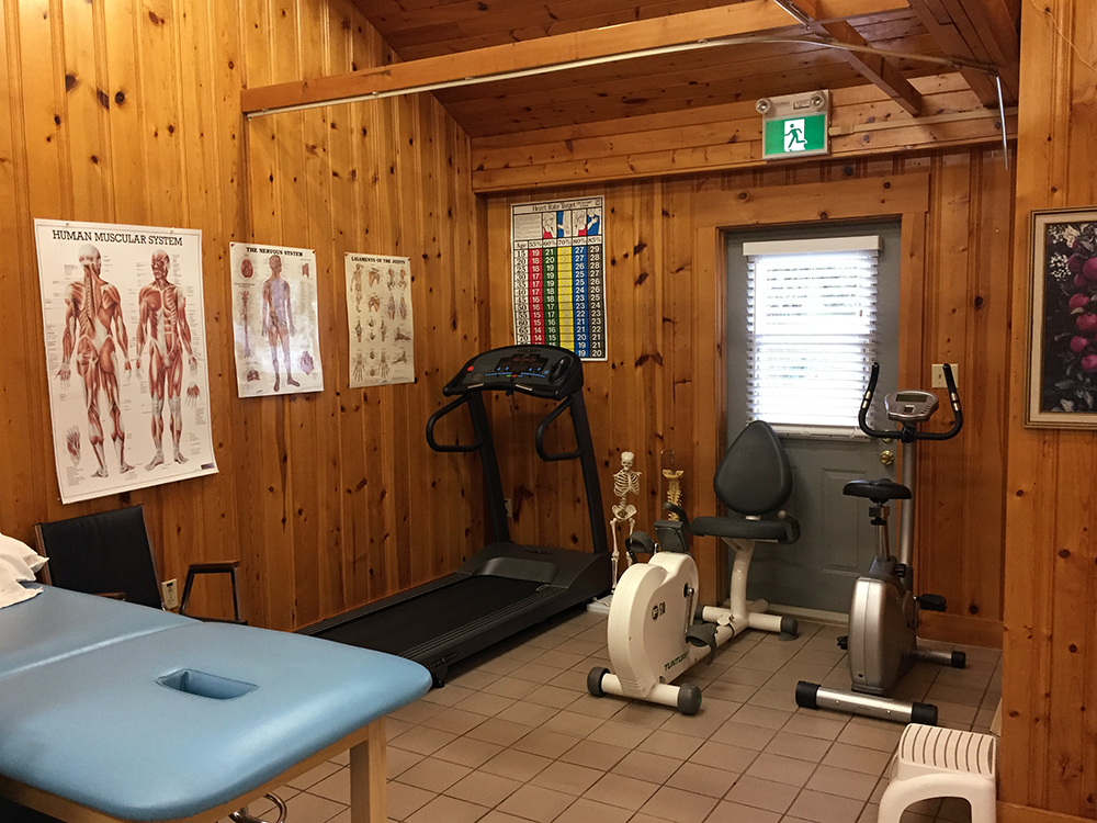 Photograph of Berwick Physiotherapy's clean and bright exercise area with equipment