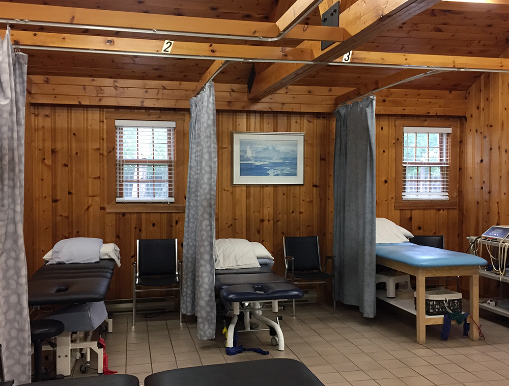 Photograph of Berwick Physiotherapy's clean and bright general treatment