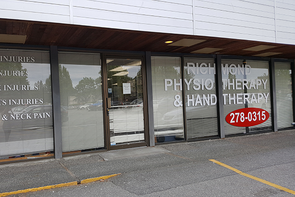 photo of pt Health Richmond Physiotherapy clinic exterior