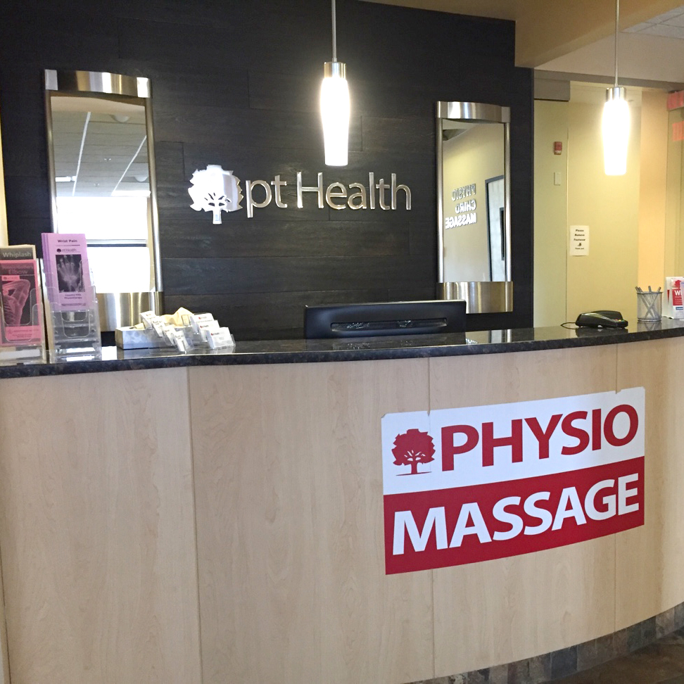 country hills front desk physiotherapy