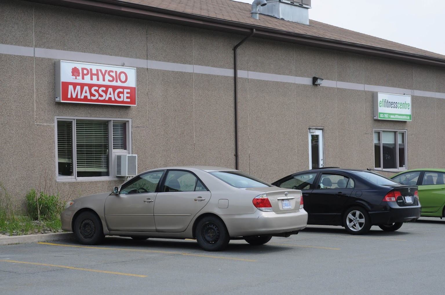 Photograph of the Elmsdale Physiotherapy exterior