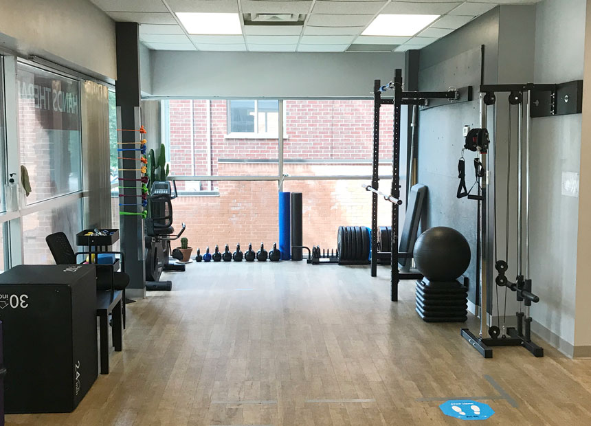 pt health old north physiotherapy london exercise area