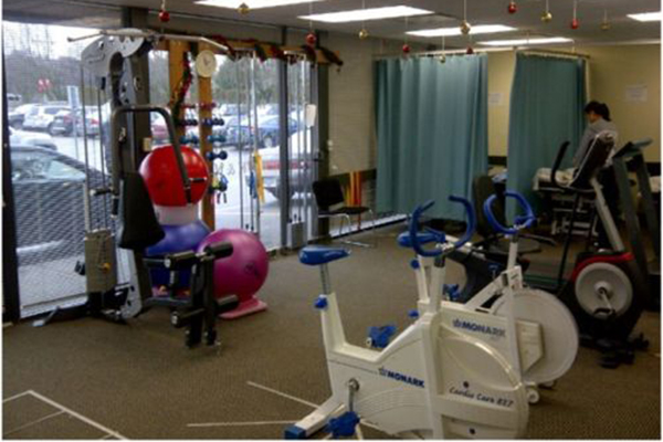 photo of pt Health Richmond Physiotherapy exercise area