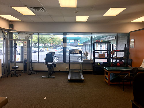 photo of the exercise area at Austin Ave Physiotherapy pt Health in Coquitlam