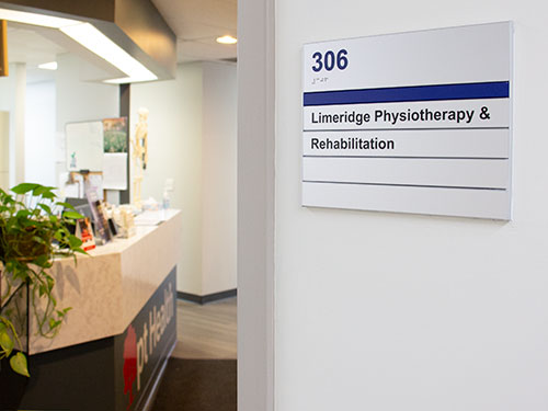 photo of pt health limeridge physiotherapy and rehabilitation hamilton clinic entrance