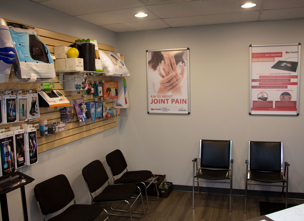 photo of pt health limeridge physiotherapy and rehabilitation hamilton waiting area