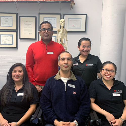 photo of pt Health main and gerrard clinic team