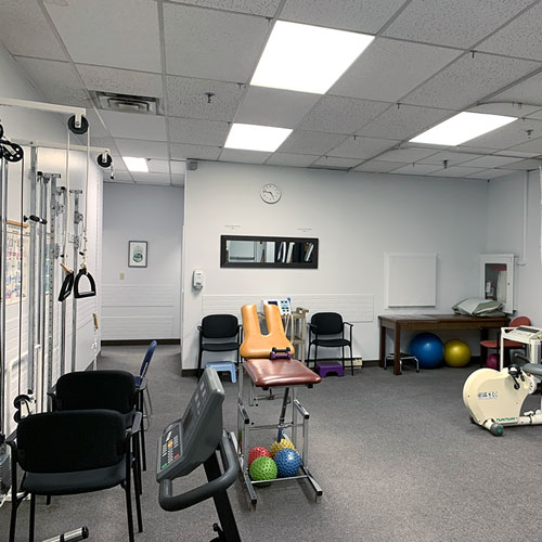 photo of pt health main and gerrard exercise area