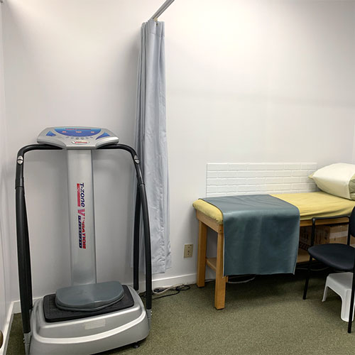 photo of pt health main and gerrard equipment