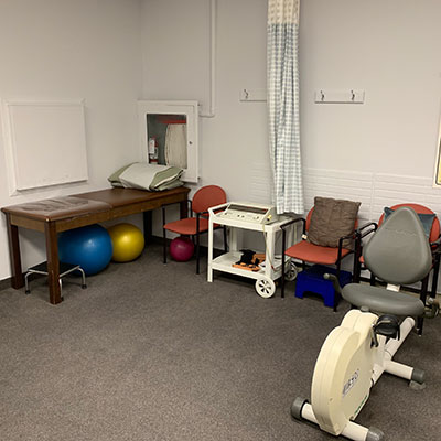 photo of pt Health main and gerrard exercise room