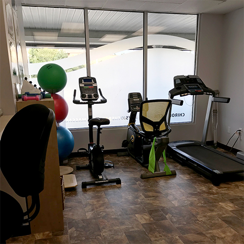 photograph of Porters Lake Physiotherapy's private gym area