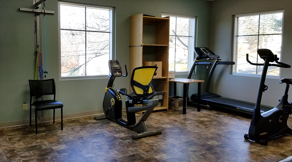 photo of premium healthcare solutions sackville exercise room