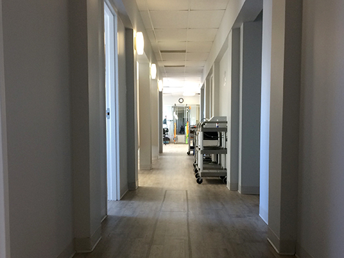 pt Health Proactive Physiotherapy clinic hallway Kingston