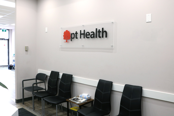 photo of pt Health Six Points waiting area Etobicoke