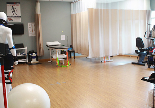 photo of springbank physiotherapy pt Health clinic treatment area in london