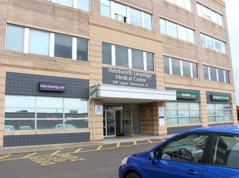photo of wentworth limeridge medical centre hamilton front entrance