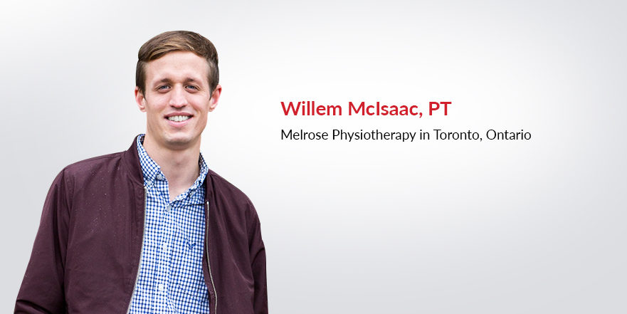 Willem McIsaac physiotherapist