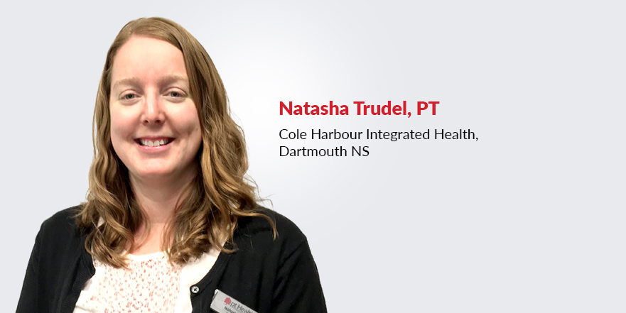 Natasha Trudel physiotherapist at Cole Harbour Integrated Health in Dartmouth Nova Scotia