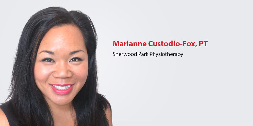 Image of pelvic health physiotherapist Marianne Custodio-Fox. Sherwood Park Alberta