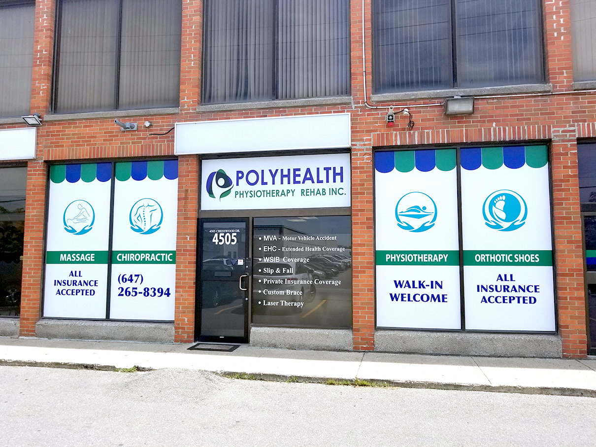 Photo of exterior of PolyHealth Physiotherapy pt Health in North York
