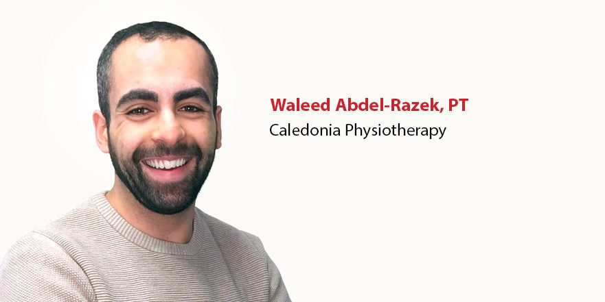 Waleed Abdel-Razek physiotherapsist at Caledonia physiotherapy