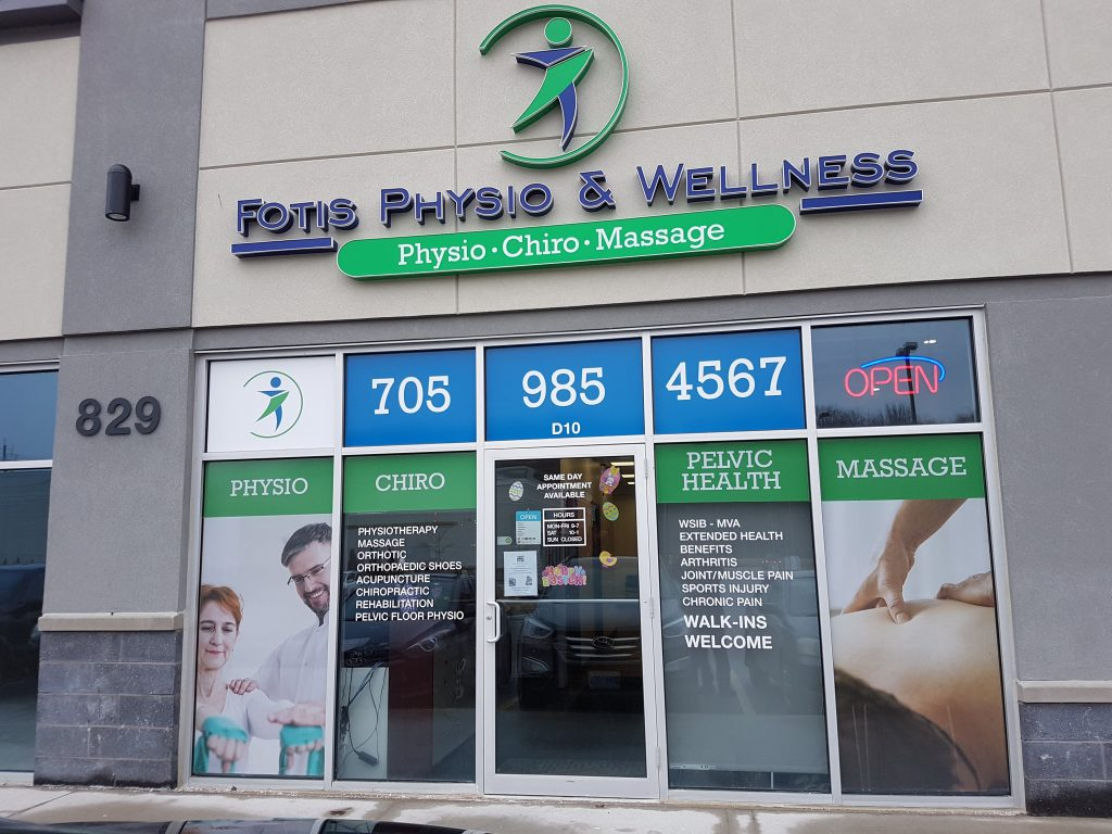 Photograph of Fotis Physio and Wellness Barrie's Front enterence