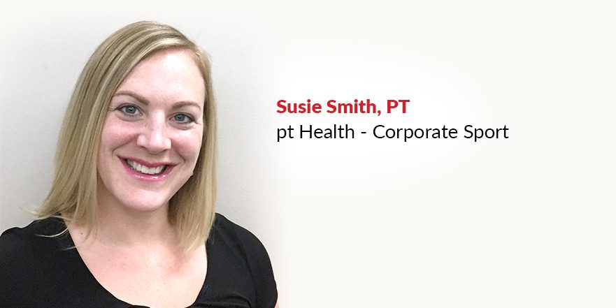 Photo of Susie Smith pelvic health physiotherapist at downtown Calgary clinic Corporate Sport