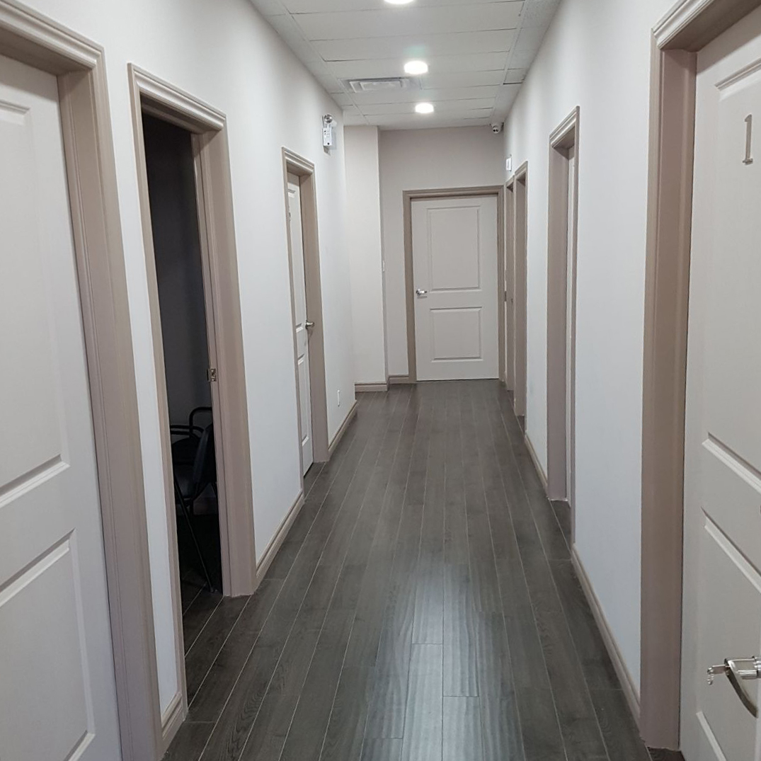 Photo of EasyGo physiotherapy hallway in Scarborough