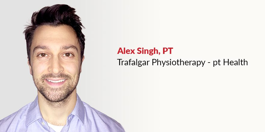 Photograph of vestibular rehabilitation physiotherapist Alex Singh