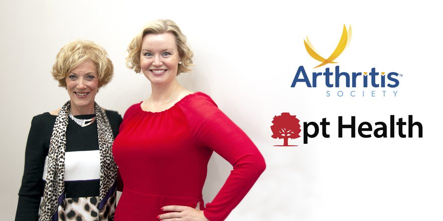 photo of Heather Shantora, CEO of pt Health and Janet Yale, CEO of the Arthritis Society