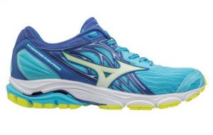 photograph of Mizuno Wave Inspire 14 women's tennis shoes for overpronation