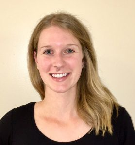 Photo of physiotherapist Jennifer Harding