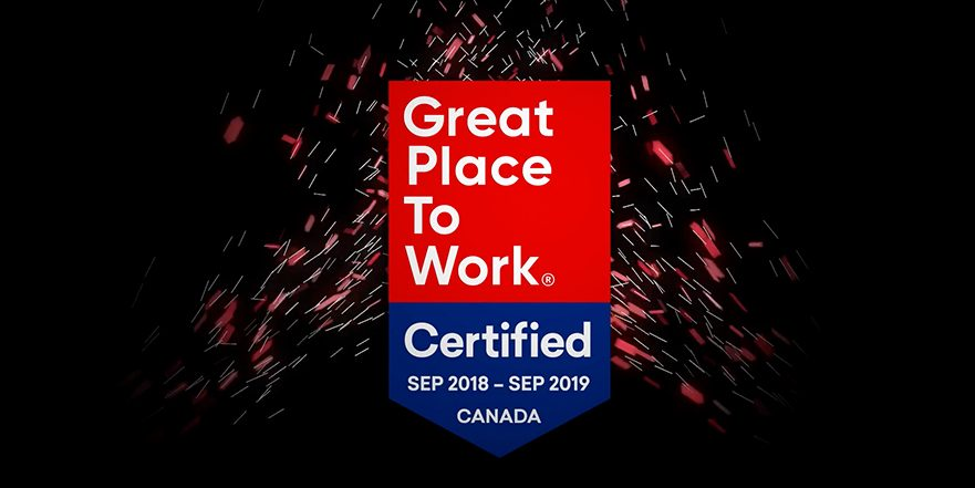 illustration of pt Health's Great Place to Work Certification as a great place to work.