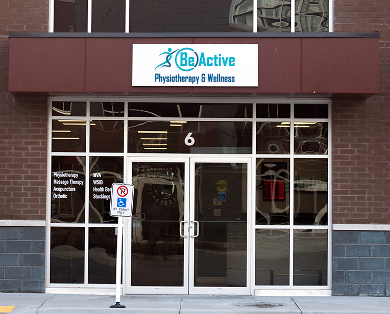 beactive physiotherapy and wellness oakville clinic exterior